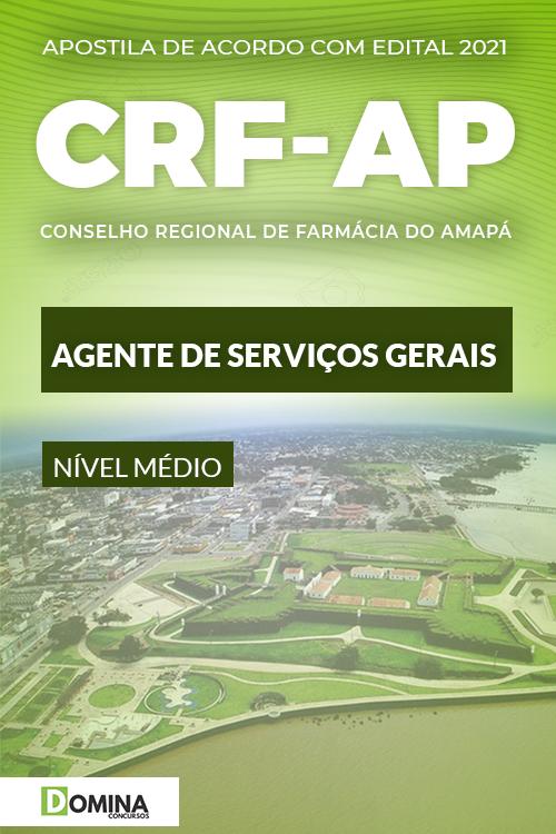 Apostila Concurso CRF AP 2021 Agente de Serviços Gerais