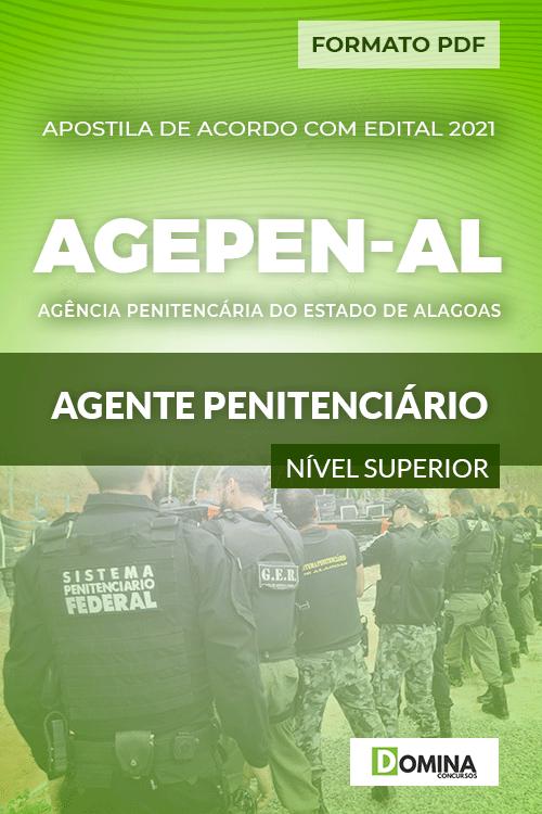 Apostila Concurso AGEPEN AL 2021 Agente Penitenciário