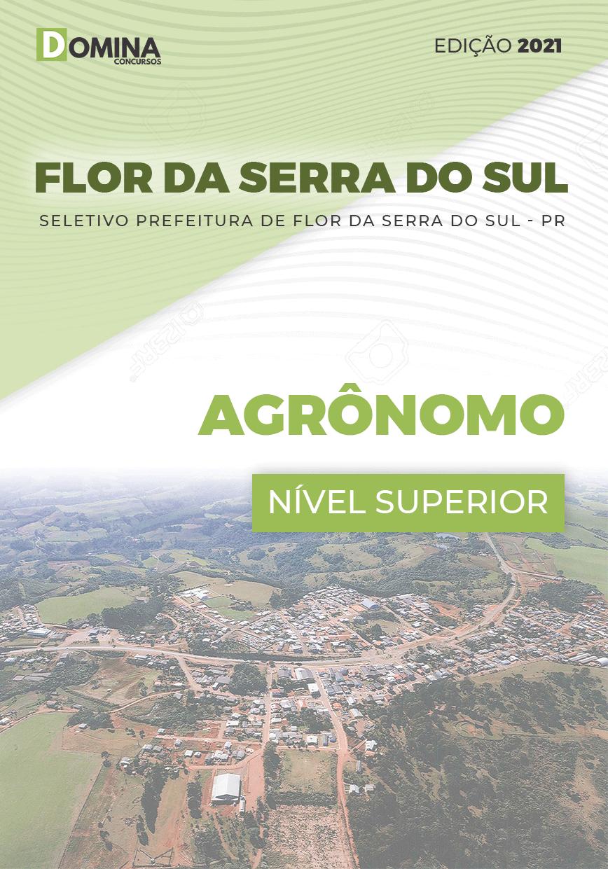 Apostila Seletivo Pref Flor Serra Sul PR 2021 Agrônomo