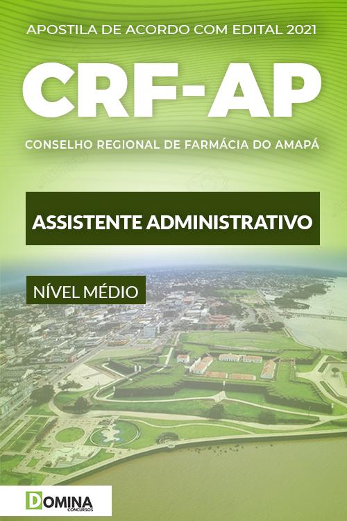 Apostila Concurso CRF AP 2021 Assistente Administrativo