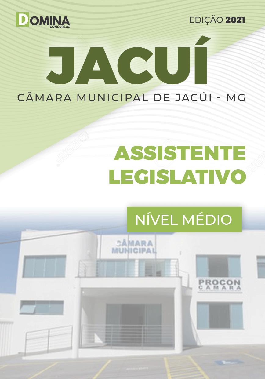 Apostila Câmara Jacuí MG 2021 Assistente Legislativo