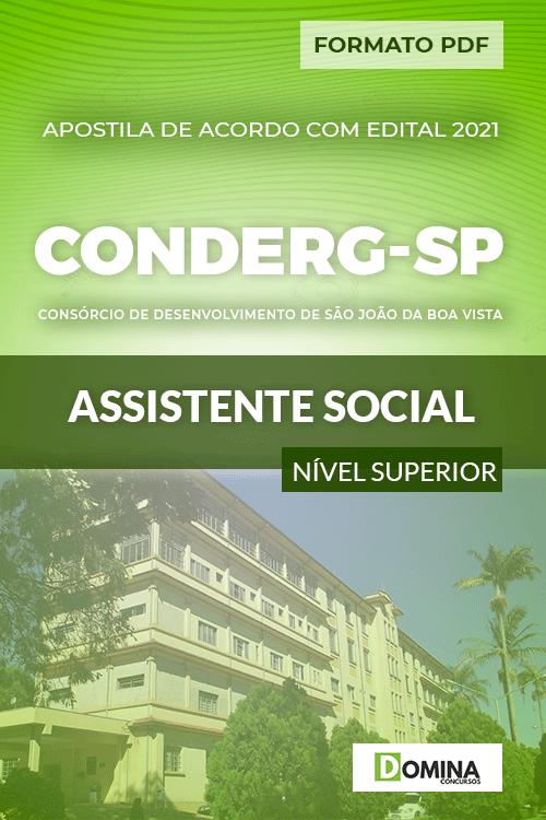 Apostila Processo Seletivo CONDERG SP 2021 Assistente Social
