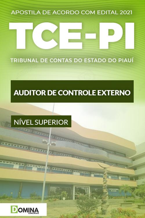 Apostila Concurso TCE PI 2021 Auditor de Controle Externo