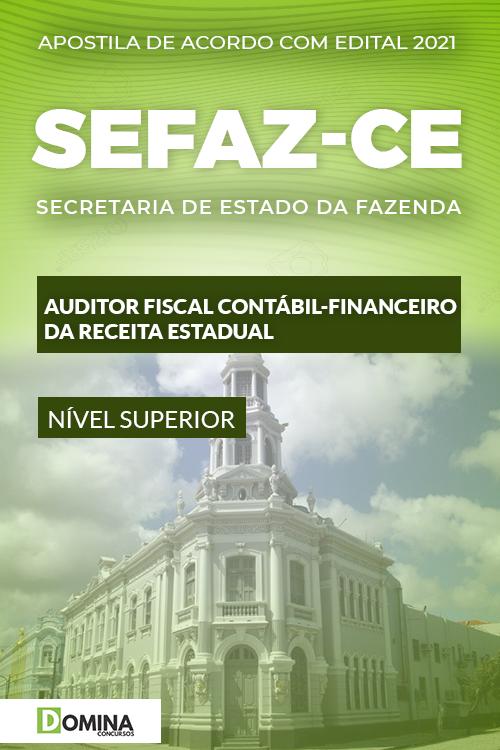 Apostila SEFAZ CE 2021 Auditor Fiscal Contábil Financeiro