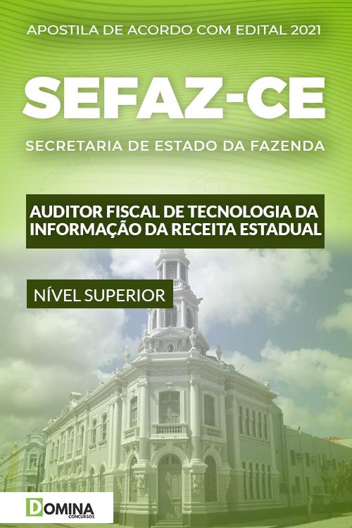 Apostila SEFAZ CE 2021 Auditor Fiscal Tecnologia da Informação