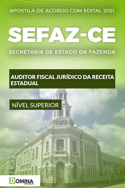Apostila Concurso SEFAZ CE 2021 Auditor Fiscal Jurídico