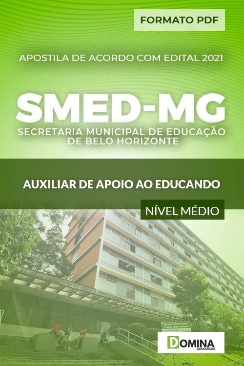 Apostila Seletivo SMED MG 2021 Auxiliar de Apoio ao Educando