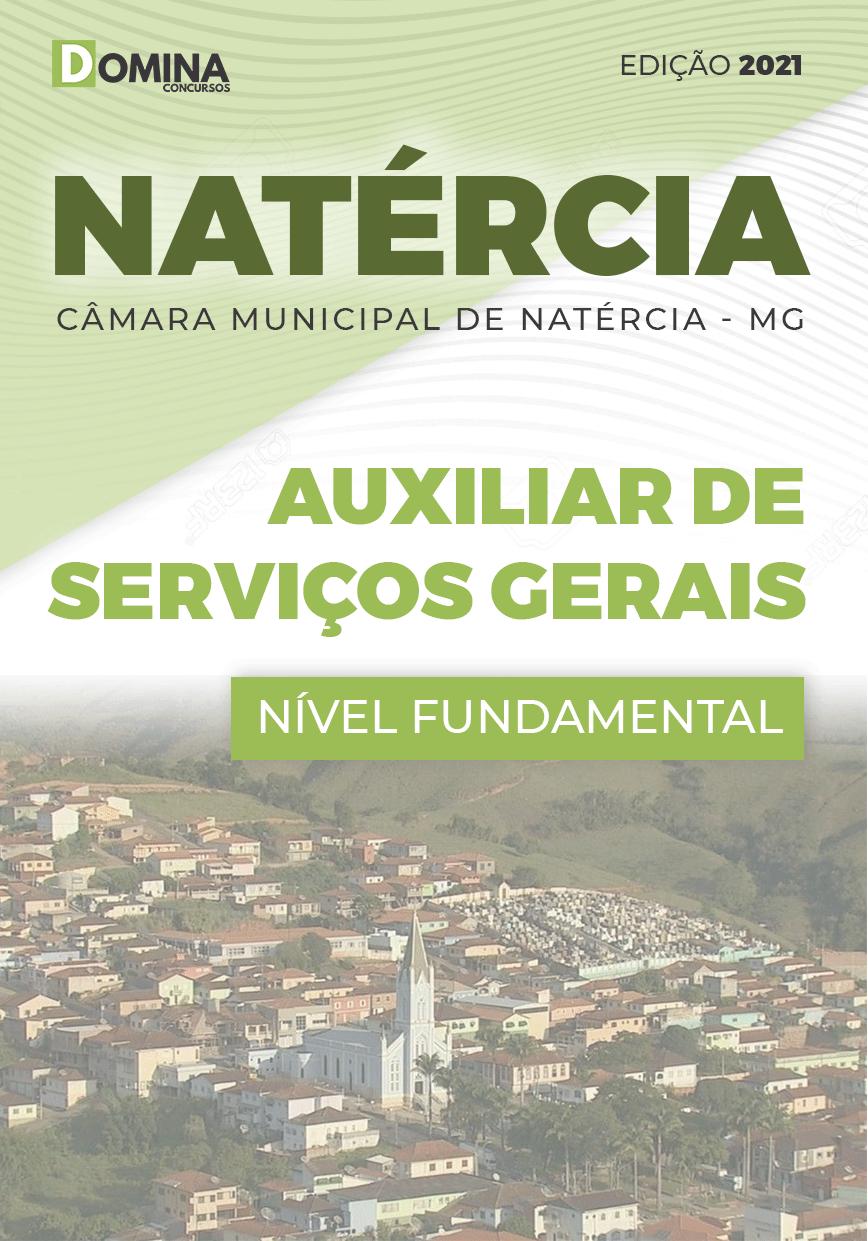 Apostila Câmara Natércia MG 2021 Auxiliar Serviços Gerais