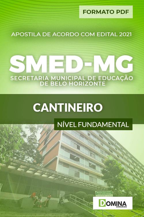 Apostila Processo Seletivo SMED MG 2021 Cantineiro