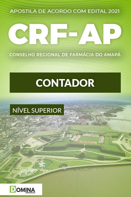 Apostila Concurso Público CRF AP 2021 Contador