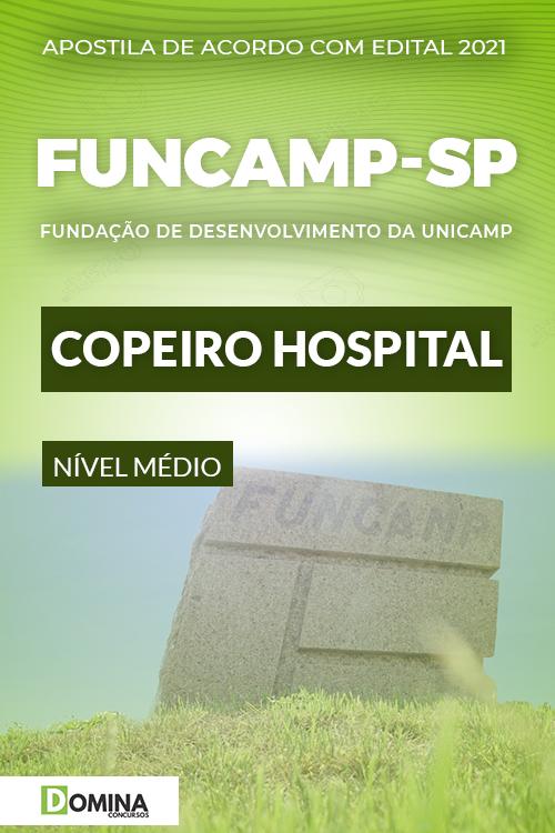 Apostila Processo Seletivo FUNCAMP SP 2021 Copeiro Hospital