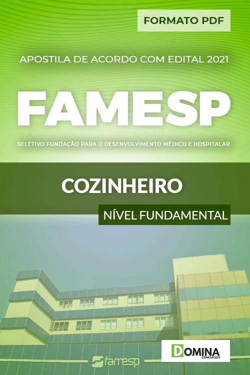 Apostila Processo Seletivo FAMESP 2021 Cozinheiro