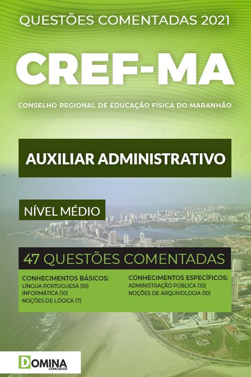 Simulados Concurso CREF 21 MA 2021 Auxiliar Administrativo