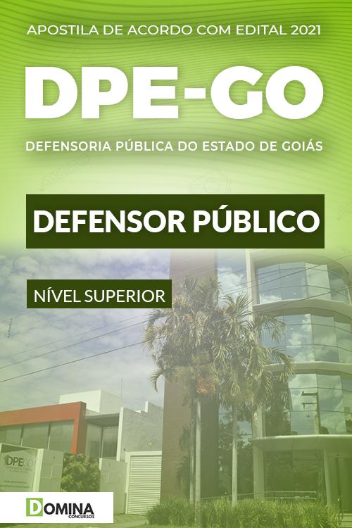 Apostila Concurso DPE GO 2021 Defensor Público FCC