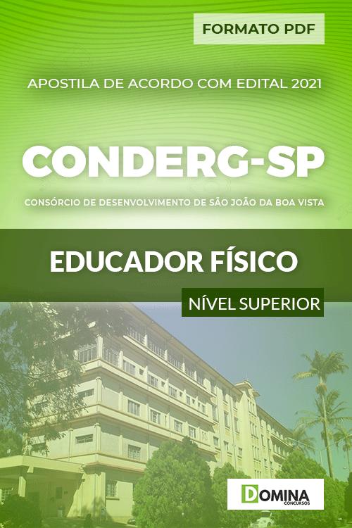 Apostila Processo Seletivo CONDERG SP 2021 Educador Físico