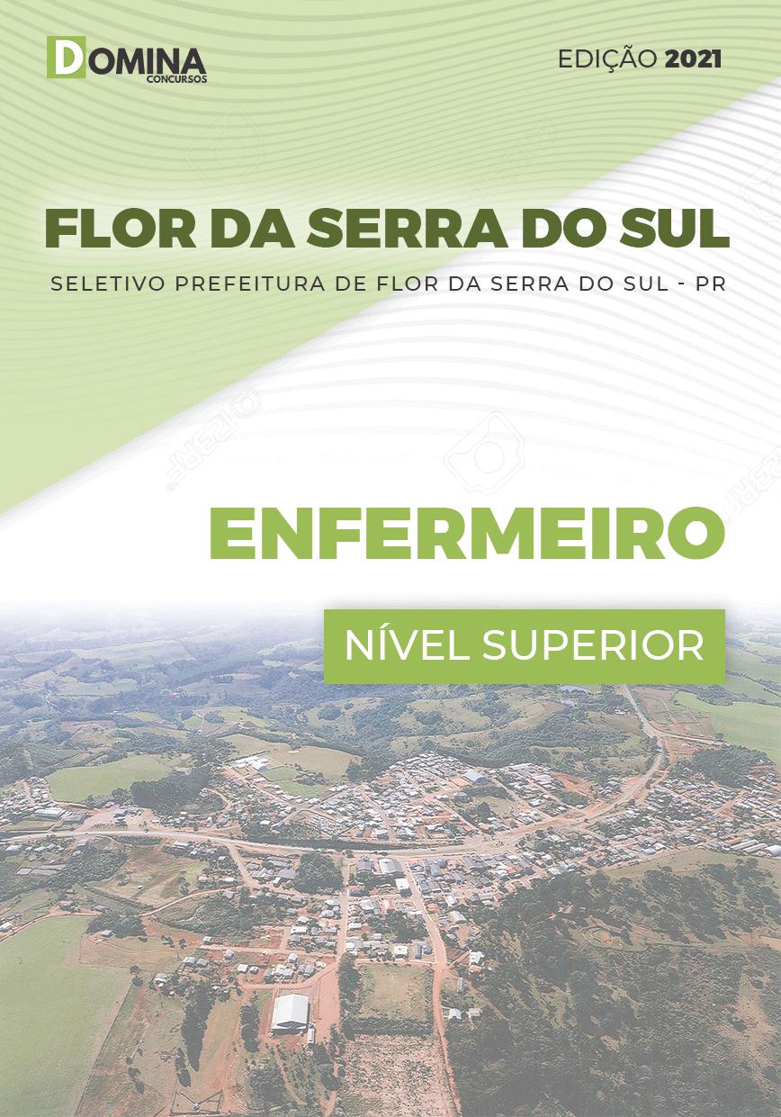 Apostila Seletivo Pref Flor Serra Sul PR 2021 Enfermeiro