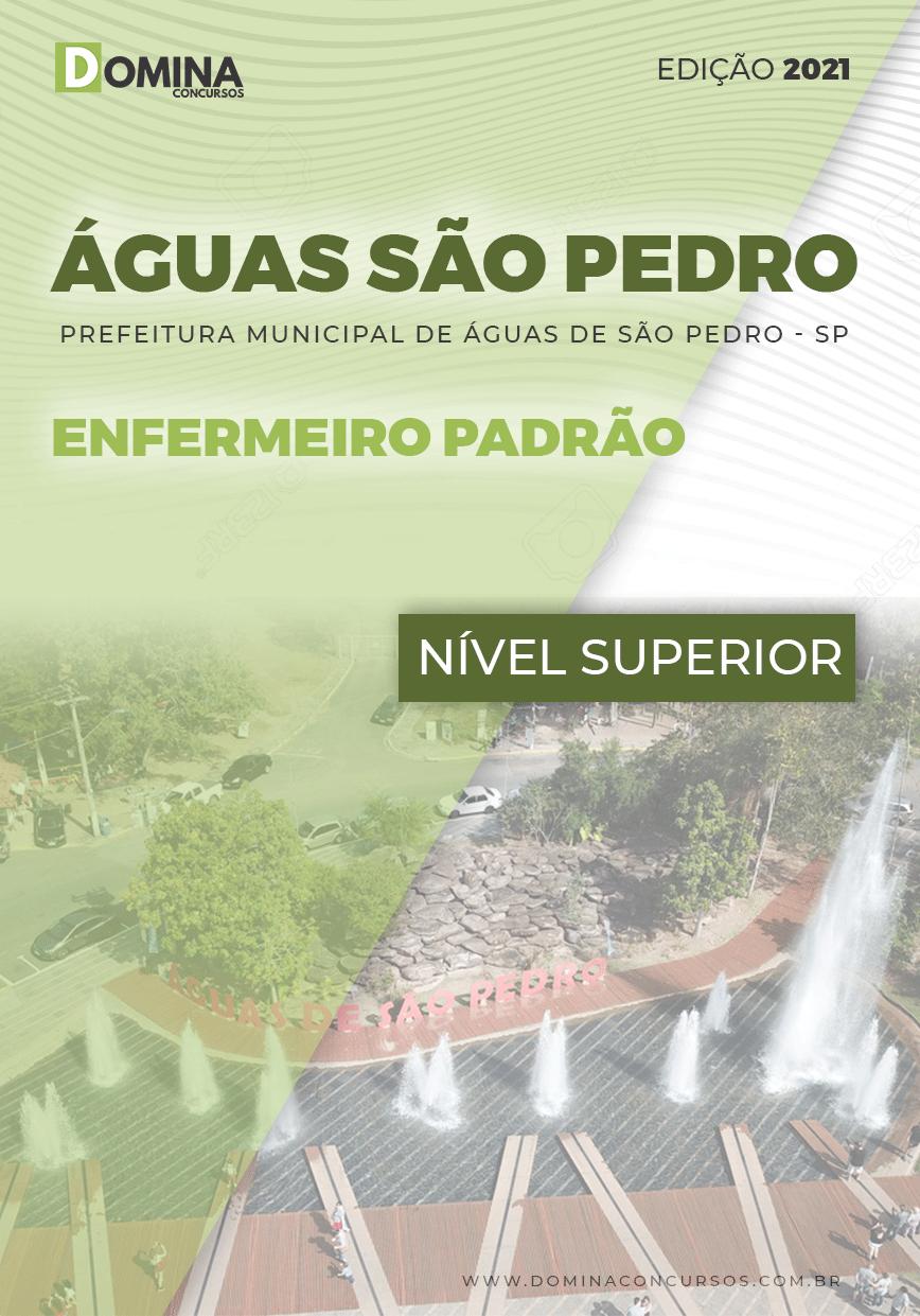 Apostila Pref Águas São Pedro SP 2021 Enfermeiro Padrão