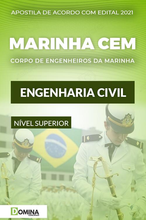 Apostila Concurso Marinha CEM 2021 Engenharia Civil