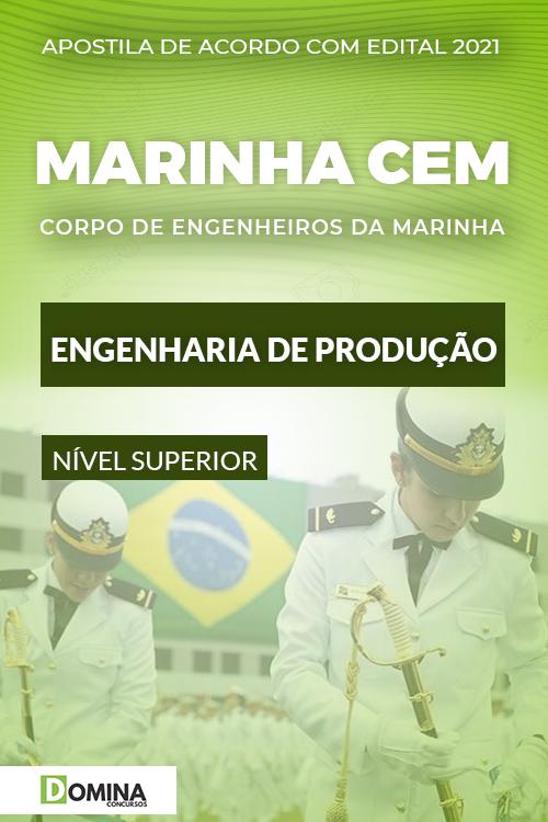 Apostila Concurso Marinha CEM 2021 Engenharia de Produção