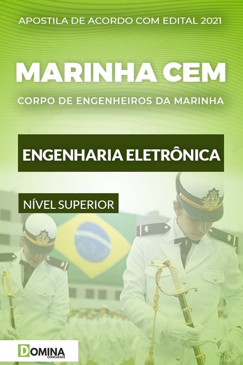 Apostila Concurso Marinha CEM 2021 Engenharia Eletrônica