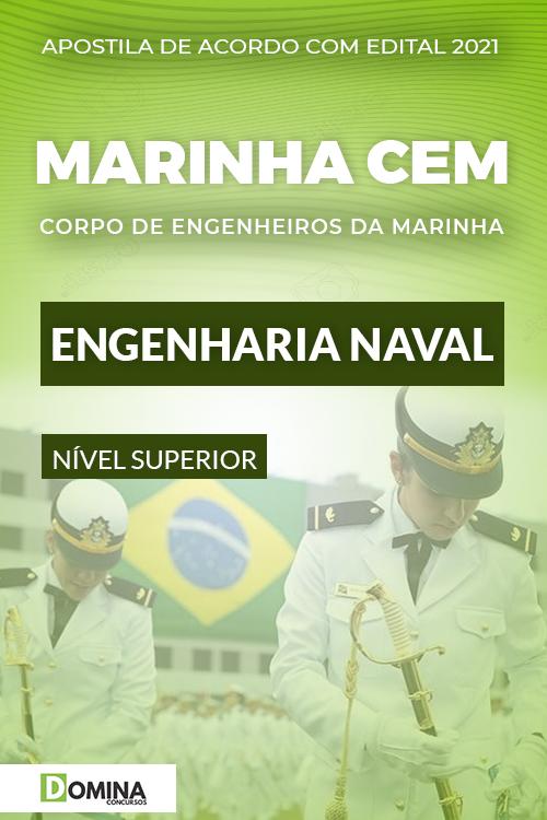 Apostila Concurso Marinha CEM 2021 Engenharia Naval