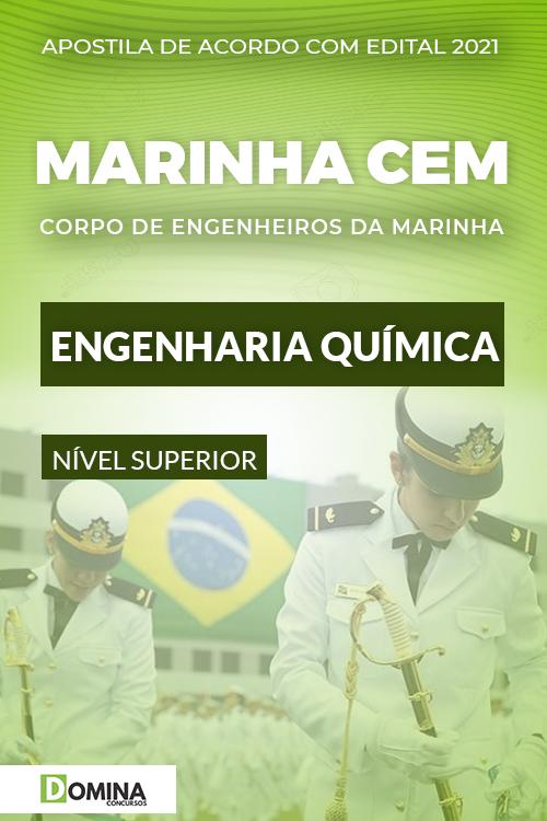 Apostila Concurso Marinha CEM 2021 Engenharia Química