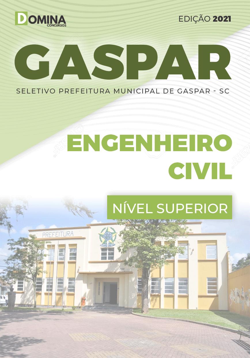 Apostila Seletivo Pref Gaspar SC 2021 Engenheiro Civil