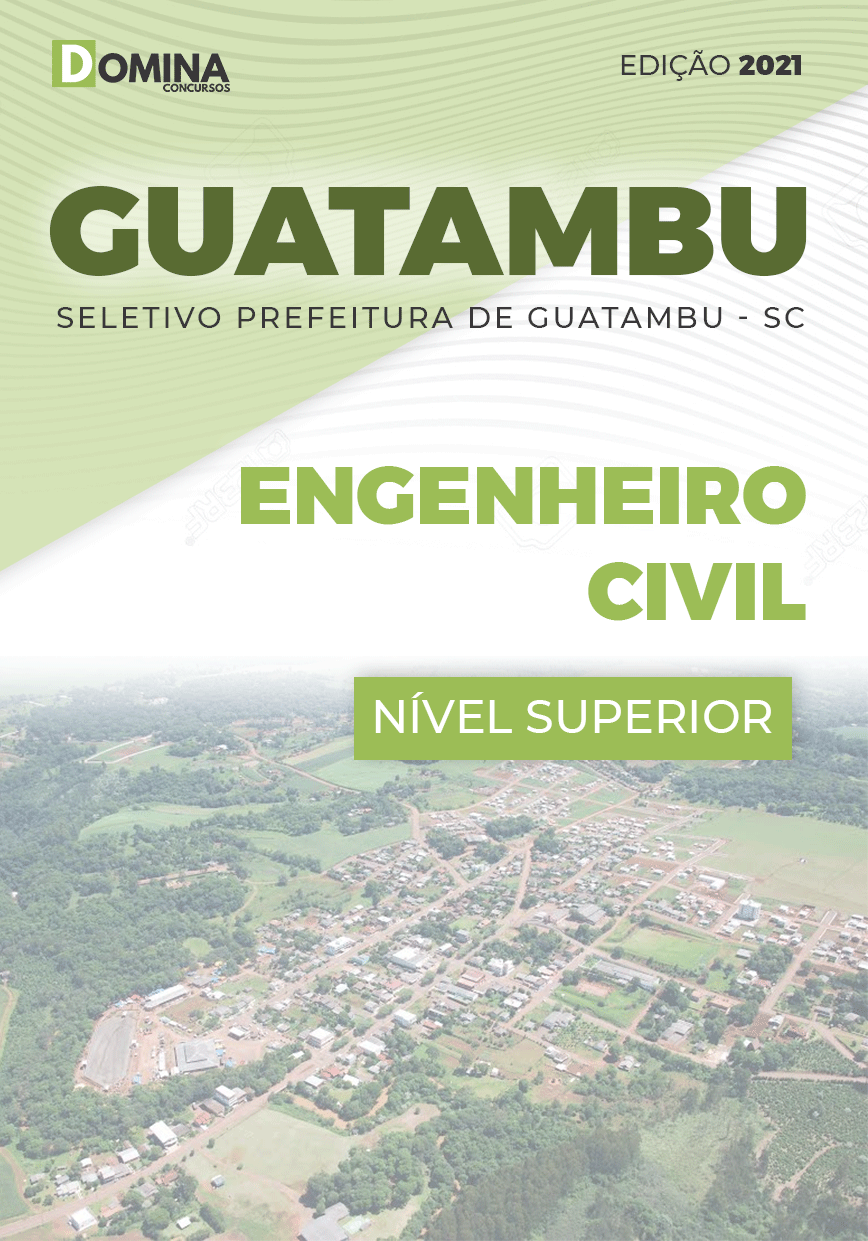 Apostila Concurso Guatambu SC 2021 Engenheiro Civil