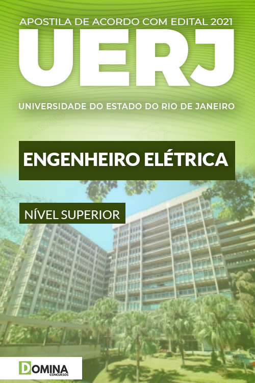 Apostila Concurso Público UERJ 2021 Engenharia Elétrica