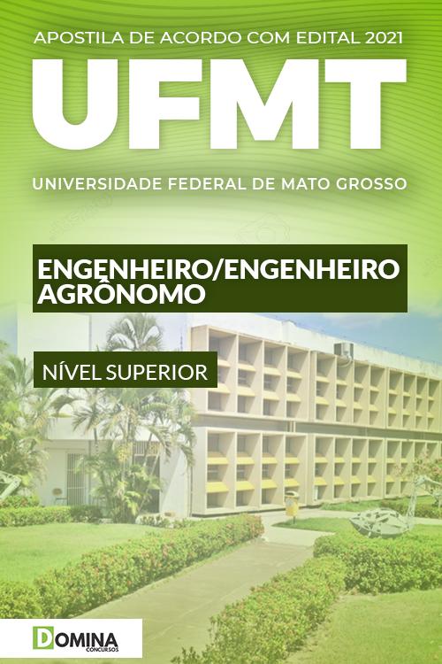 Apostila Concurso UFMT 2021 Engenheiro Agrônomo
