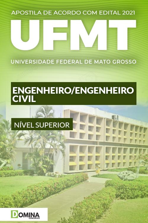 Apostila Concurso Público UFMT 2021 Engenheiro Civil