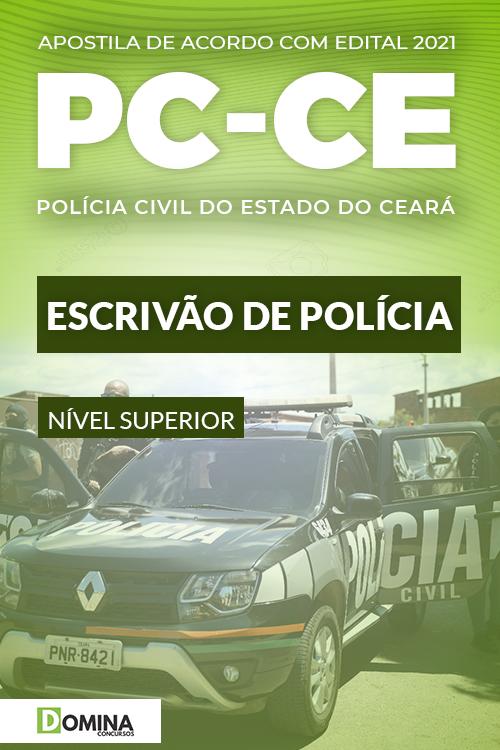 Apostila Concurso Público PC CE 2021 Escrivão de Polícia
