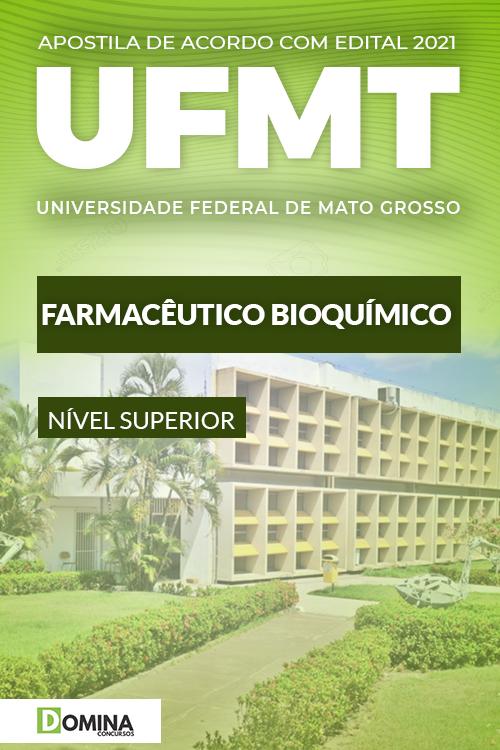 Apostila Concurso UFMT 2021 Farmacêutico Bioquímico