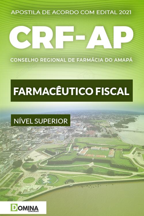 Apostila Concurso CRF AP 2021 Farmacêutico Fiscal