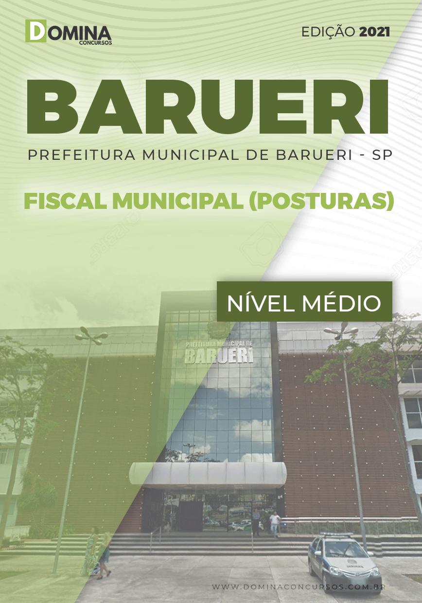 Apostila Concurso Pref Barueri SP 2021 Fiscal Municipal Posturas