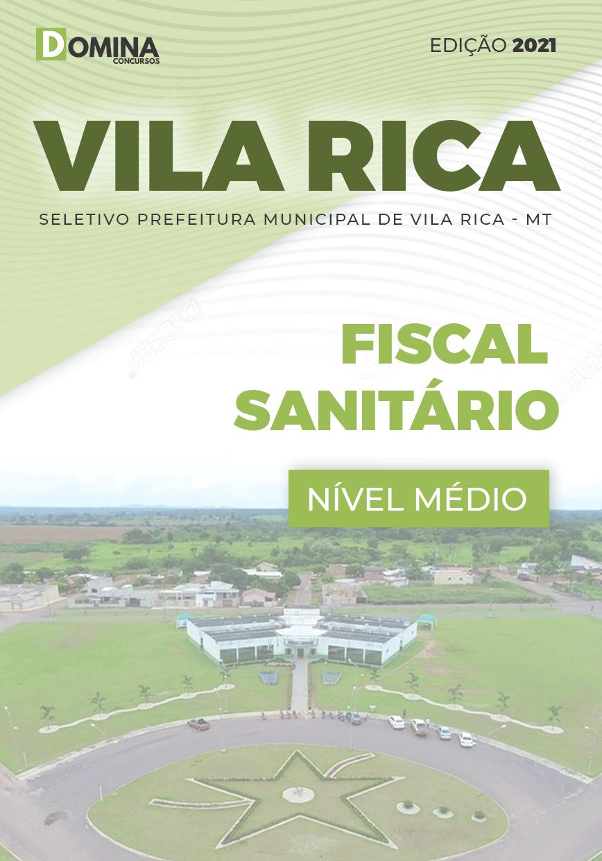 Apostila Seletivo Pref Vila Rica MT 2021 Fiscal Sanitário