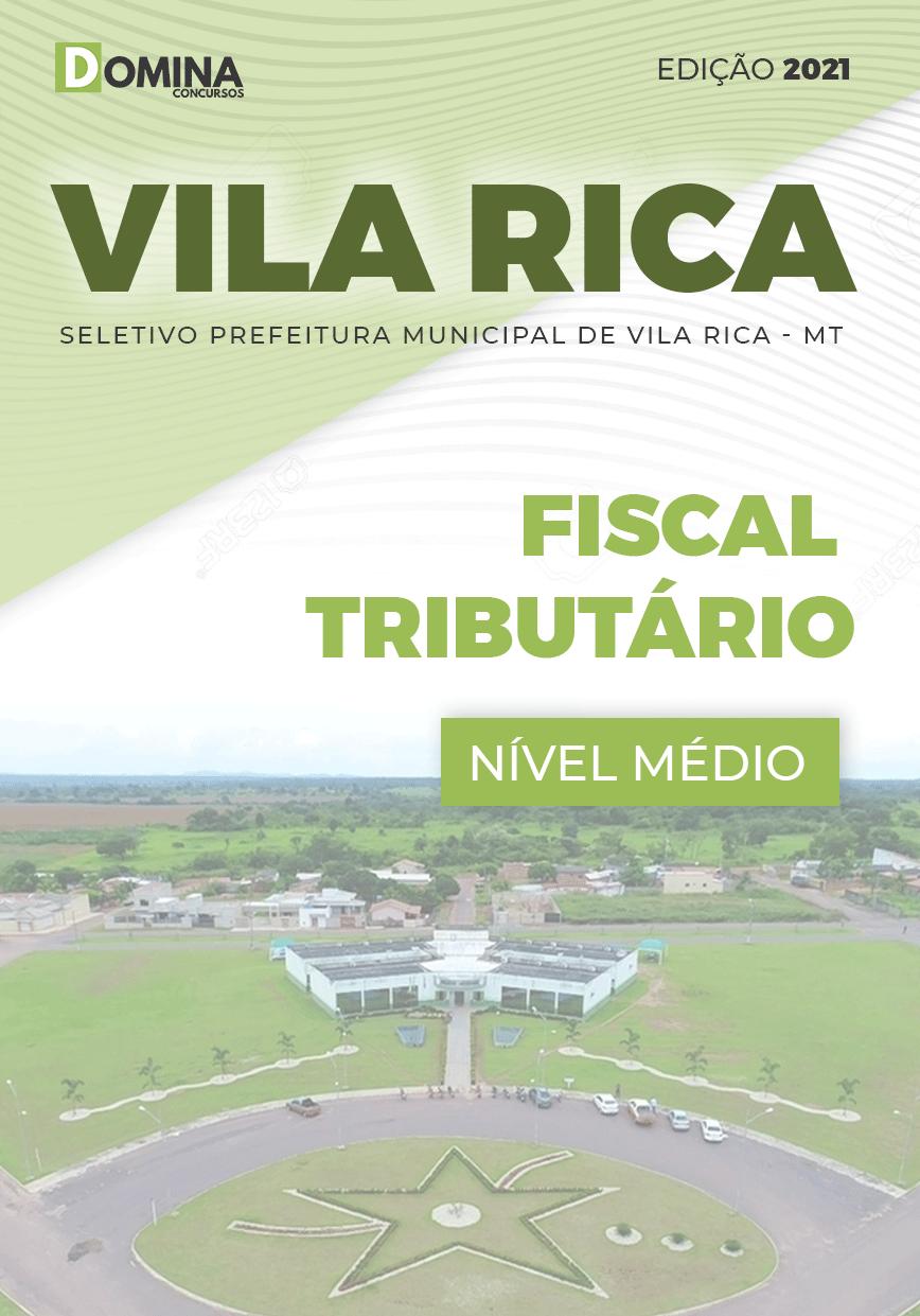 Apostila Seletivo Pref Vila Rica MT 2021 Fiscal Tributário