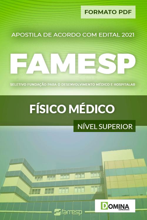 Apostila Processo Seletivo FAMESP 2021 Físico Médico
