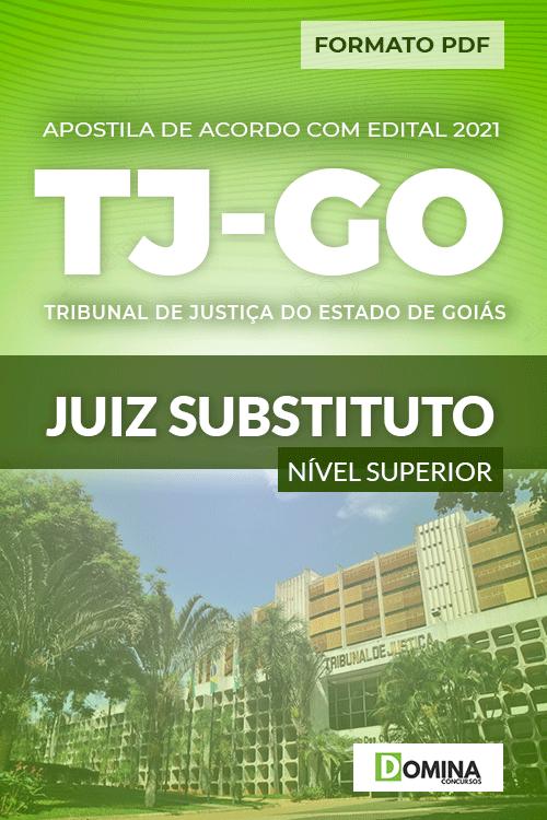 Apostila Concurso Público TJ GO 2021 Juiz Substituto