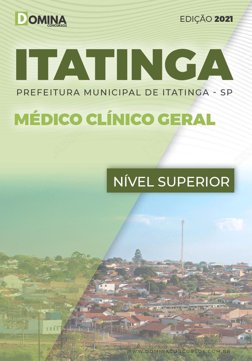 Apostila Concurso Pref Itatinga SP 2021 Médico Clínico Geral