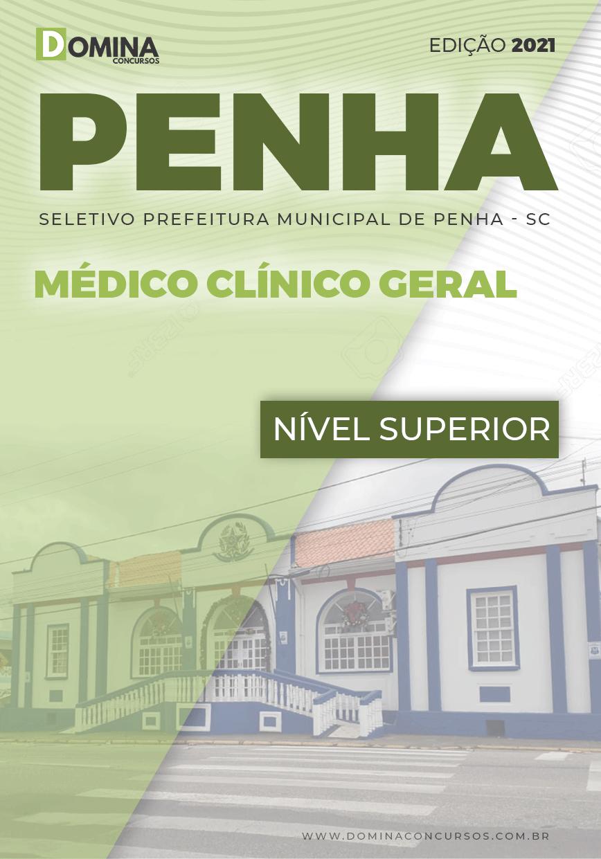 Apostila Seletivo Pref Penha SC 2021 Médico Clínico Geral