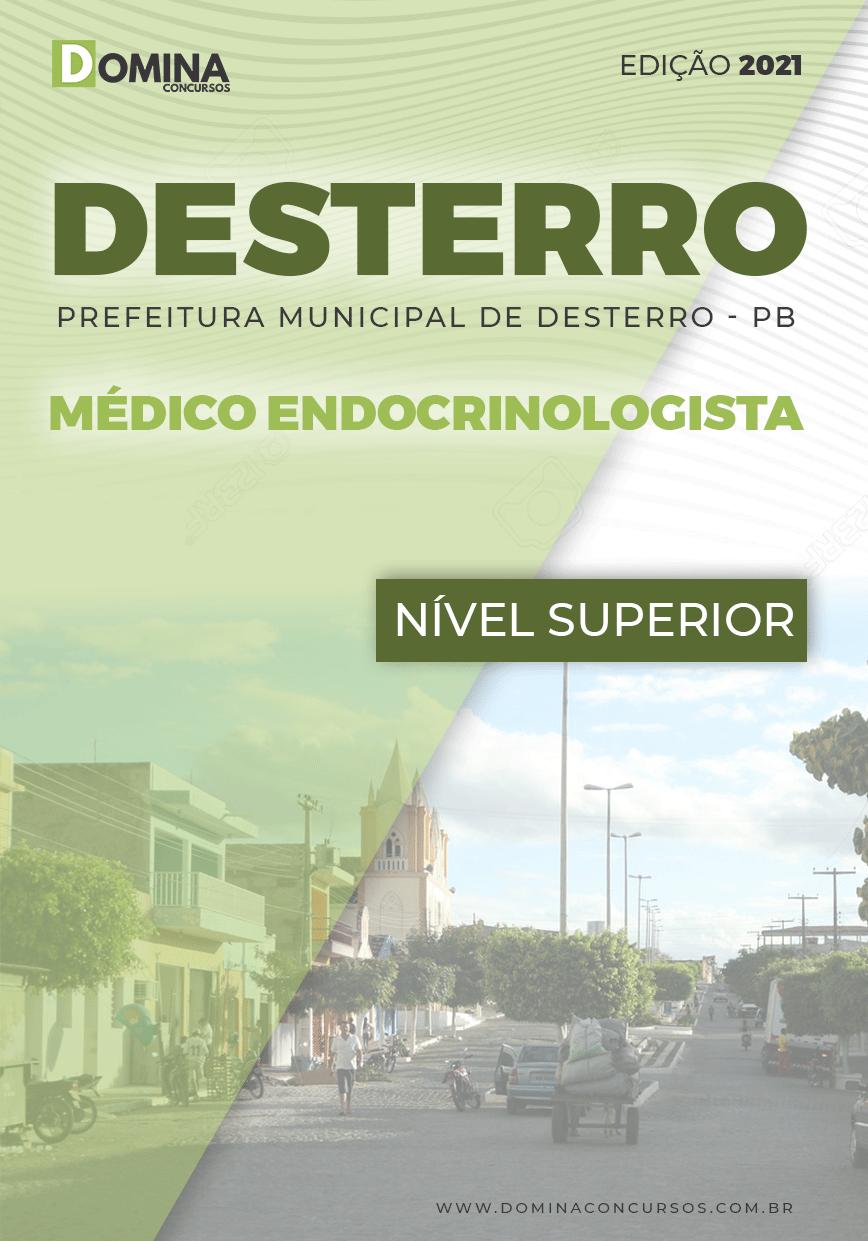 Apostila Concurso Pref Desterro PB 2021 Médico Endocrinologista