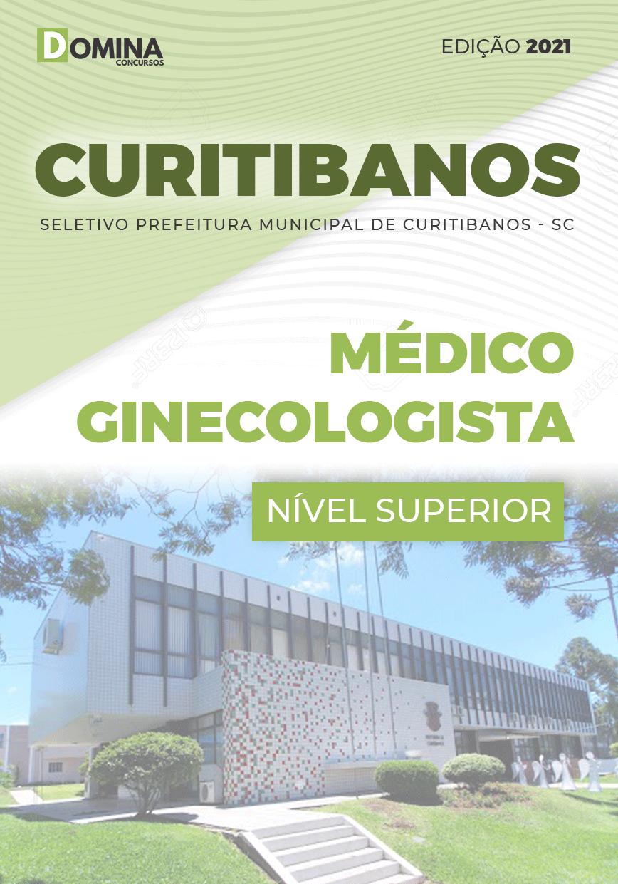 Apostila Prefeitura Curitibanos SC 2021 Médico Ginecologista