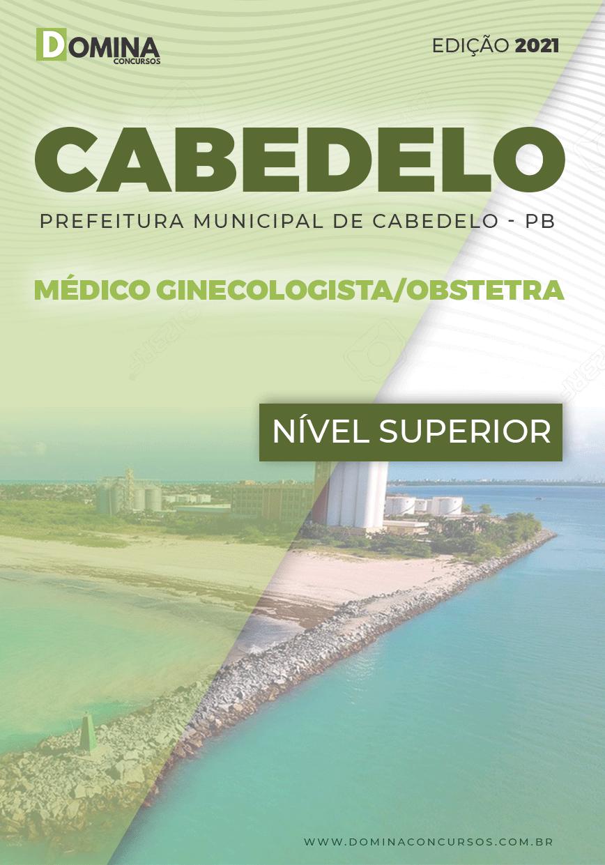 Apostila Pref Cabedelo PB 2021 Médico Ginecologista Obstetra
