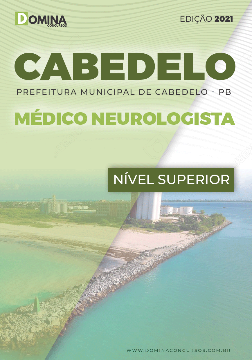 Apostila Concurso Pref Cabedelo PB 2021 Médico Neurologista
