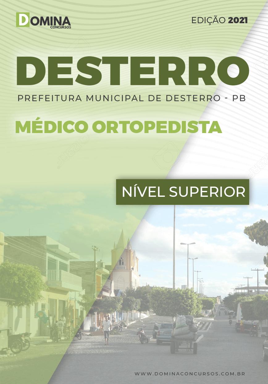 Apostila Concurso Pref Desterro PB 2021 Médico Ortopedista