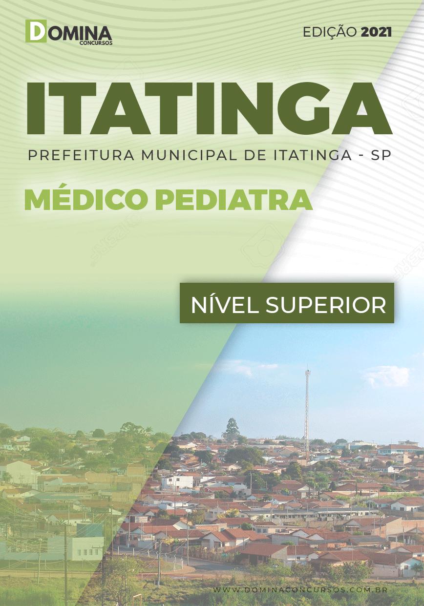Apostila Concurso Pref Itatinga SP 2021 Médico Pediatra