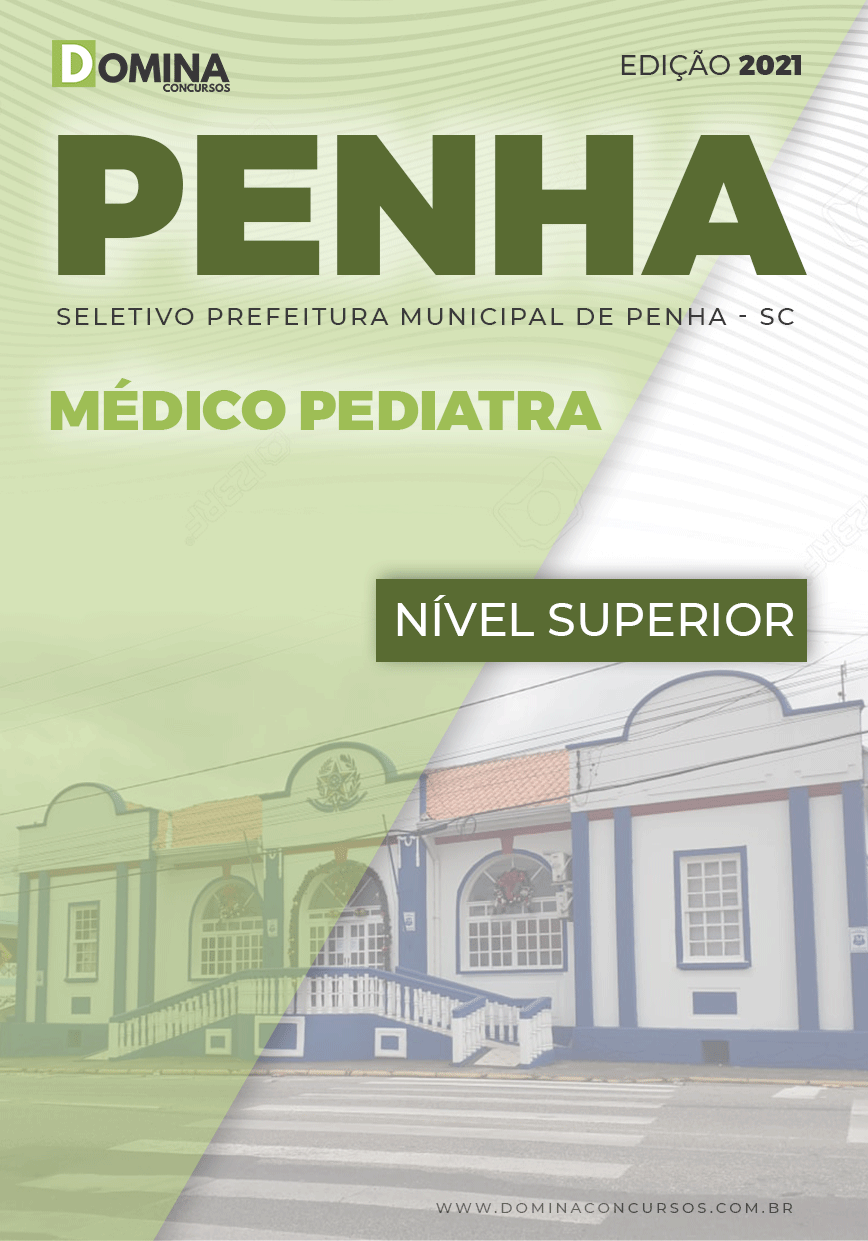 Apostila Seletivo Pref Penha SC 2021 Médico Pediatra