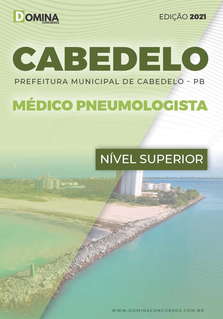 Apostila Concurso Pref Cabedelo PB 2021 Médico Pneumologista