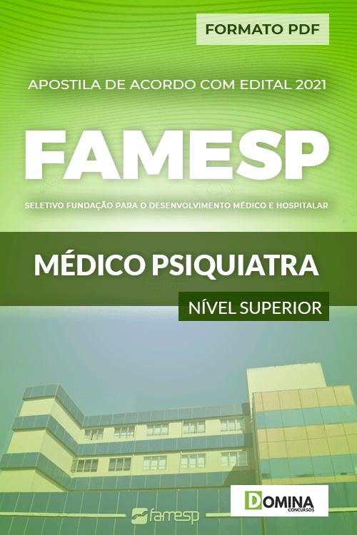 Apostila Processo Seletivo FAMESP 2021 Médico Psiquiatra